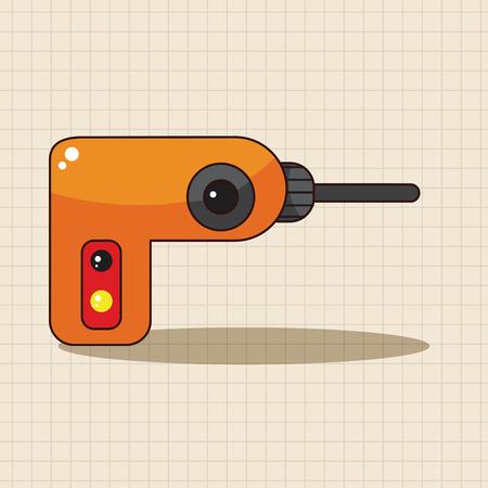 driller: driller theme elements Illustration
