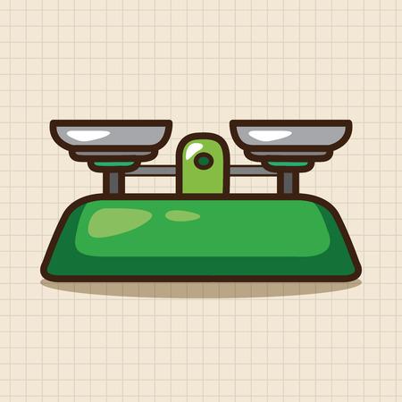 balanza de laboratorio: Elementos de equilibrio temáticos de laboratorio