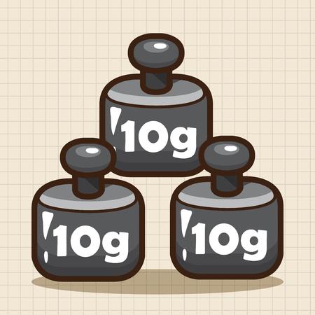 balanza de laboratorio: Elementos de equilibrado de las temáticas de laboratorio Vectores