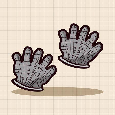working gloves: Working gloves theme elements