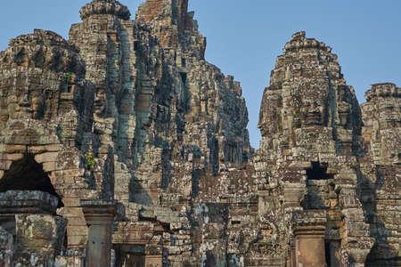 bayon: Stone statues of Bayon, Cambodia