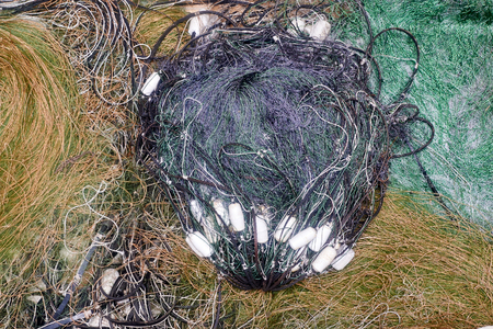 commercial fishing net: old fishing nets backgrounds