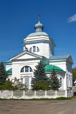 classicism: Church of the Nativity in the style of classicism in Slavgorod