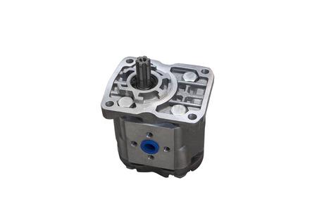 Hydraulic power steering pump Stock Photo