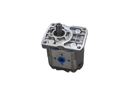 Hydraulic power steering pump Banque d'images