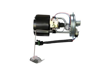 Car fuel pump module on a white background