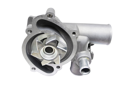 Car water pump, isolated on a white background