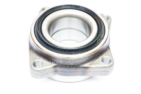 wheel hub bearing isoated on white background Stock Photo
