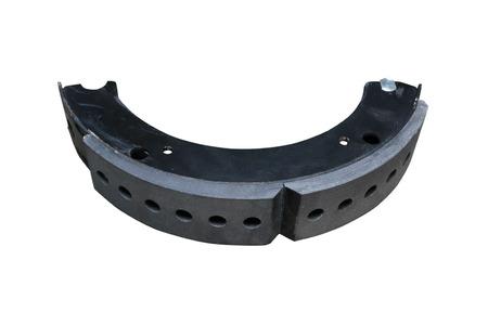 Brake shoe. Brake system of drum type.