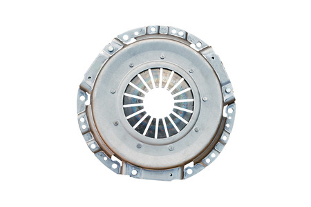 Clutch basket disc car isolated on white background Stock Photo