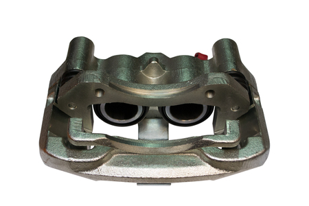 New Brake Caliper on isolated a white background