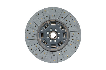 Car clutch isolated on a white background.
