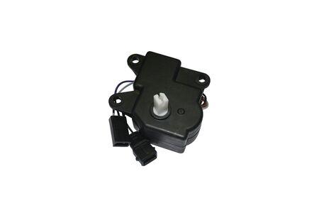 Car wiper motor isolated on white Фото со стока