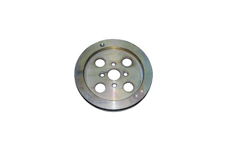 Isolated crankshaft pulley
