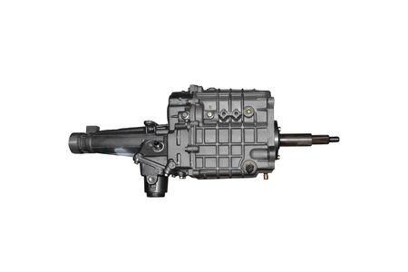 Gearbox in transmission part isolated on a white