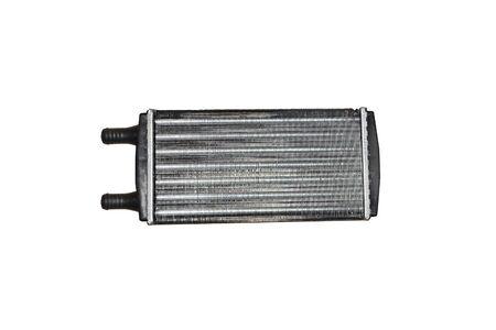 Car radiator isolated over white Фото со стока