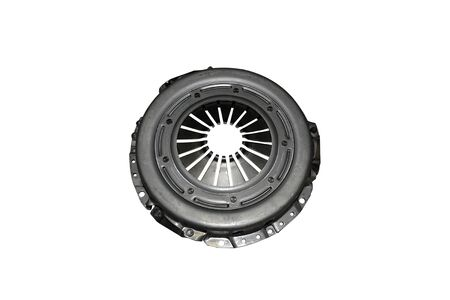 Car clutch plate isolated on a white