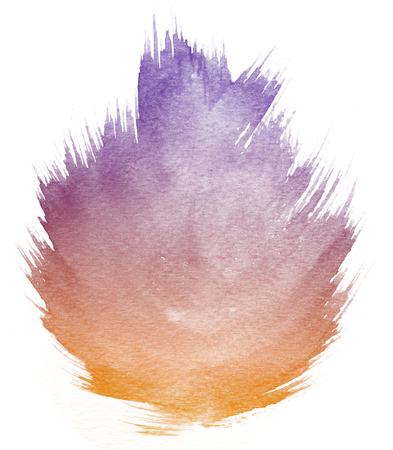 orange texture: Abstract purple watercolor on white background and this is watercolor splash.