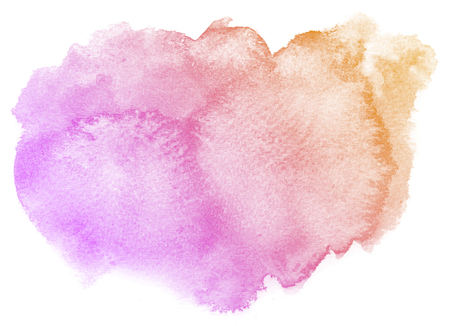 purple abstract background: Abstract pink watercolor on white background.This is watercolor splash.It is drawn by hand.