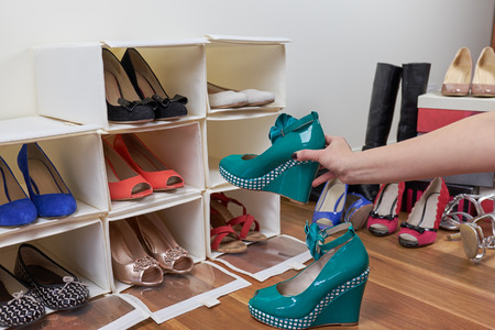 organizing: organizing shoes