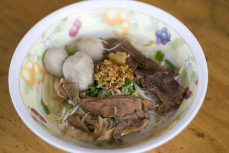 Some kind of thai noodle