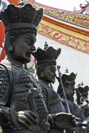 Chinese sculpture in thai temple