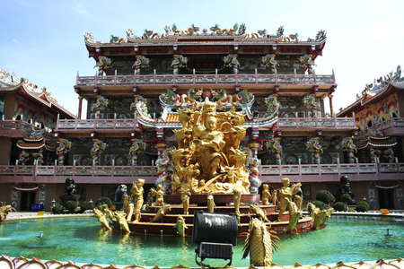 Chinese temple in thailand