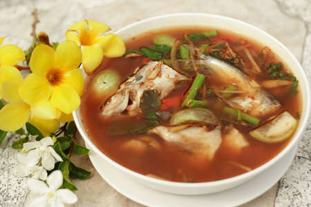 Fish in hot and sour soup