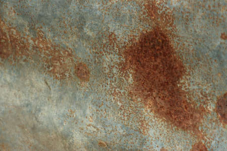 Rust on the wall Stock Photo