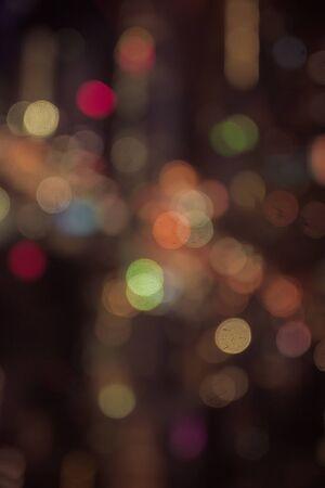 lighhts: Blured lighhts. Bokeh light vintage background