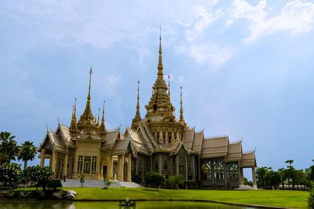 non: Wat Non Kum Temple in bangkok thailand. public Art