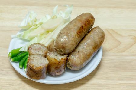 northeastern: Sausage Northeastern Style of thai food (Sai Krawk E-san)