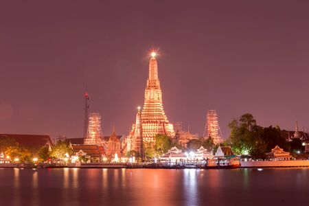 wat arun: Prang of Wat Arun. Bangkok,Thailand. public Art