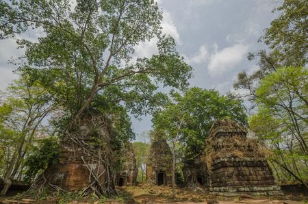 architech: Pram Temple Stock Photo