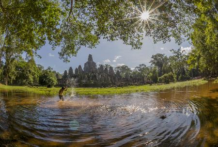 architech: Angkor thorm temple