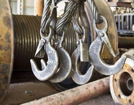 slings: the metal hook