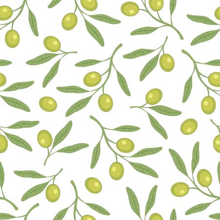 Olive pattern simple pattern.