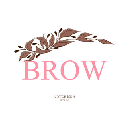 Vector icon for the brow master.