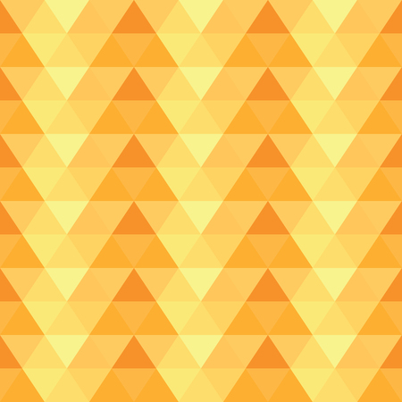 Yellow abstract vector seamless pattern