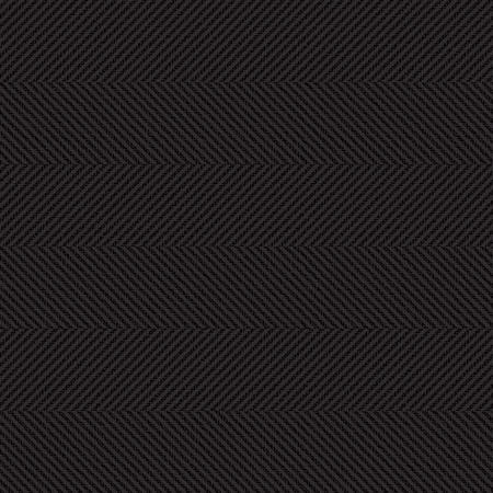 Black canvas textured herringbone vector background  Stock Illustratie