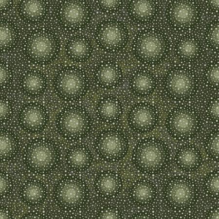 Green abstract organic vector seamless pattern background  Çizim