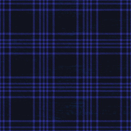 Dark blue vector tartan pattern background