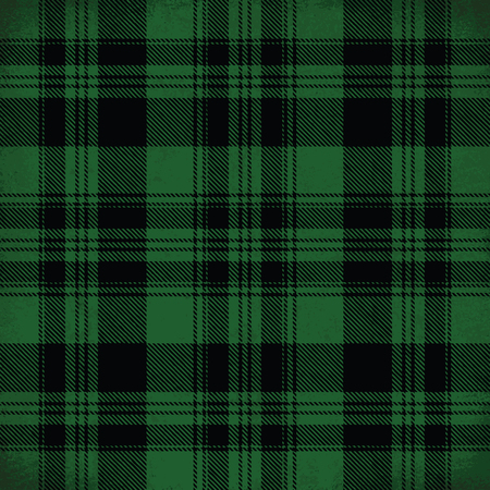 Green vector tartan inspired pattern background 2