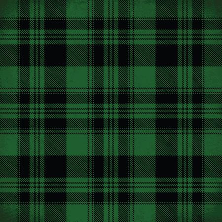 Green vector tartan inspired pattern background 2 Illustration