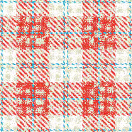 Plaid textured fabric vector pattern background 1