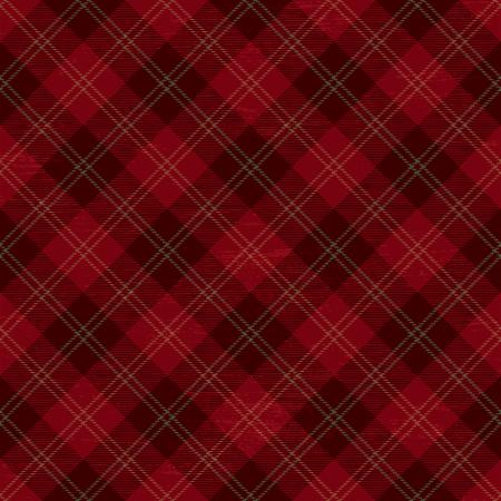 Tartan inspired grunge diagonal plaid pattern background 3