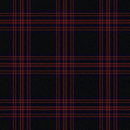 Tartan inspired textured plaid vector background