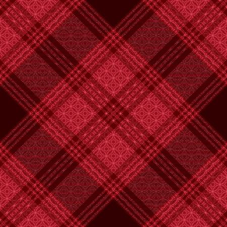 Diagonal tartan inspired vector seamless pattern background 7