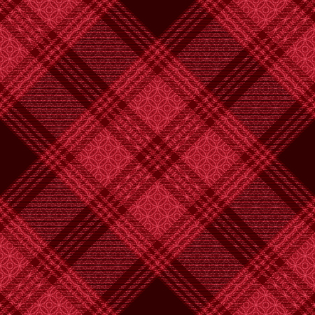 Diagonal tartan inspired vector seamless pattern background 7