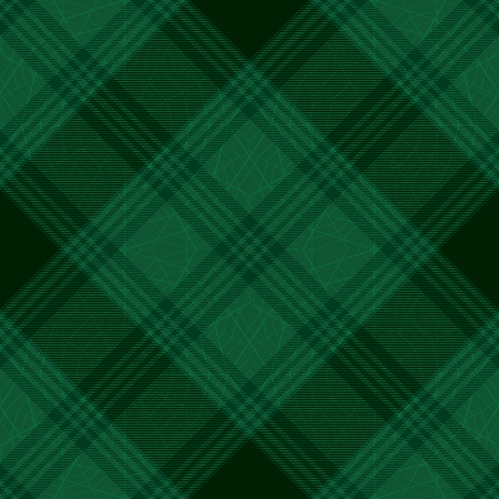 Diagonal tartan inspired vector seamless pattern background 4   イラスト・ベクター素材